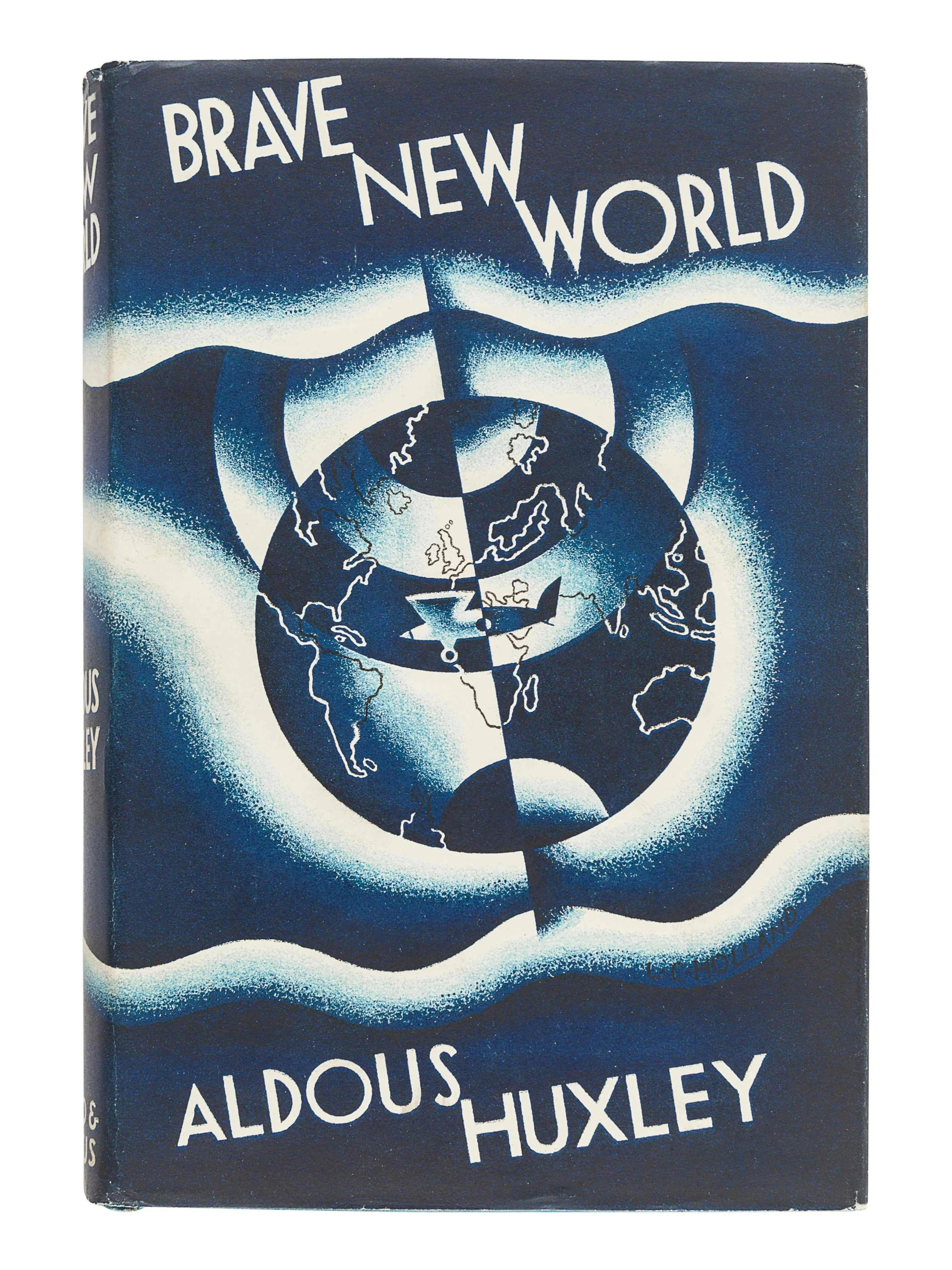 Aldous Huxley, 'Brave New World,' $10,625 including buyer's premium. Image courtesy Hindman