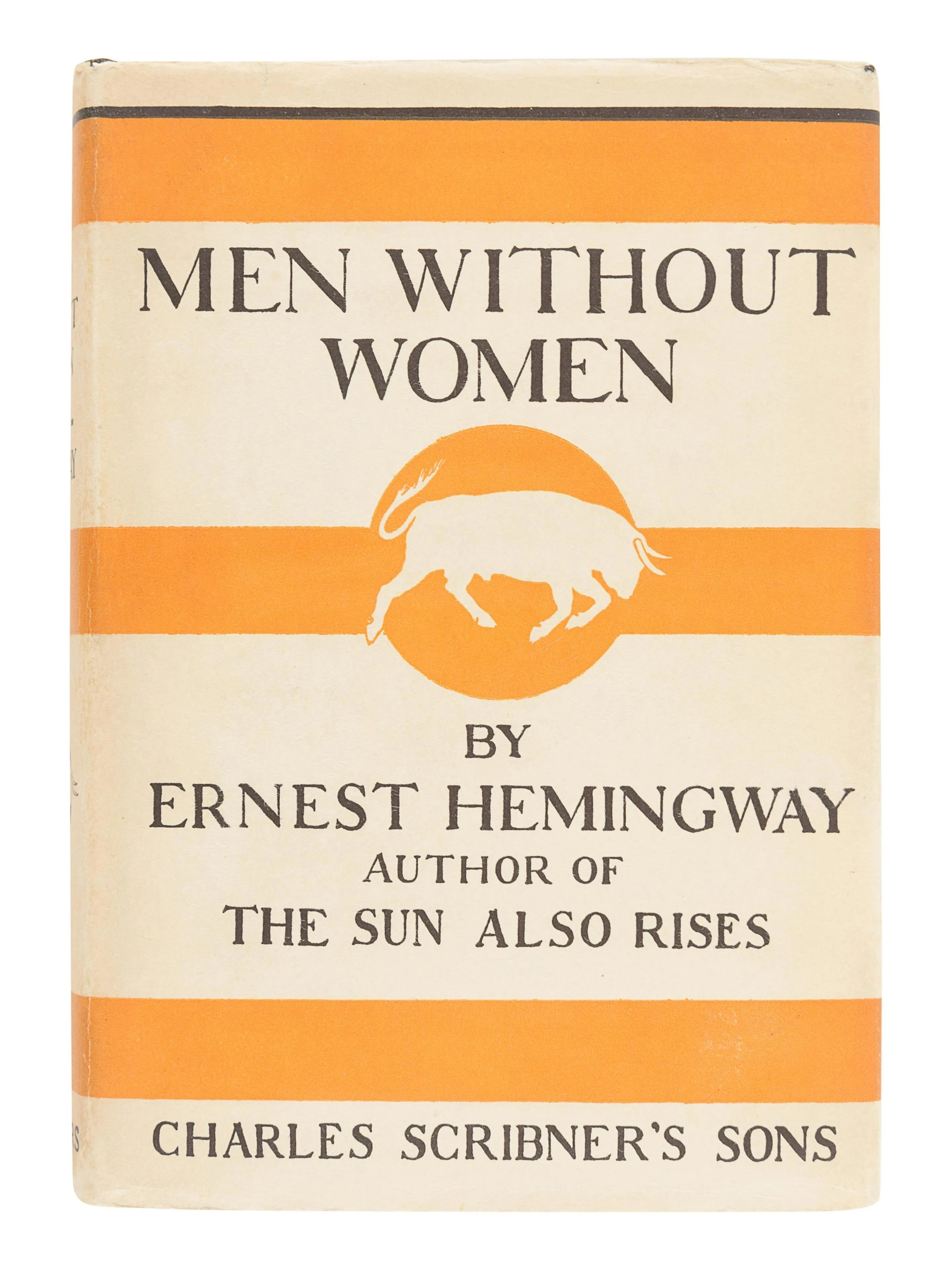 Ernest Hemingway, 'Men Without Women,' $11,875 including buyer's premium. Image courtesy Hindman