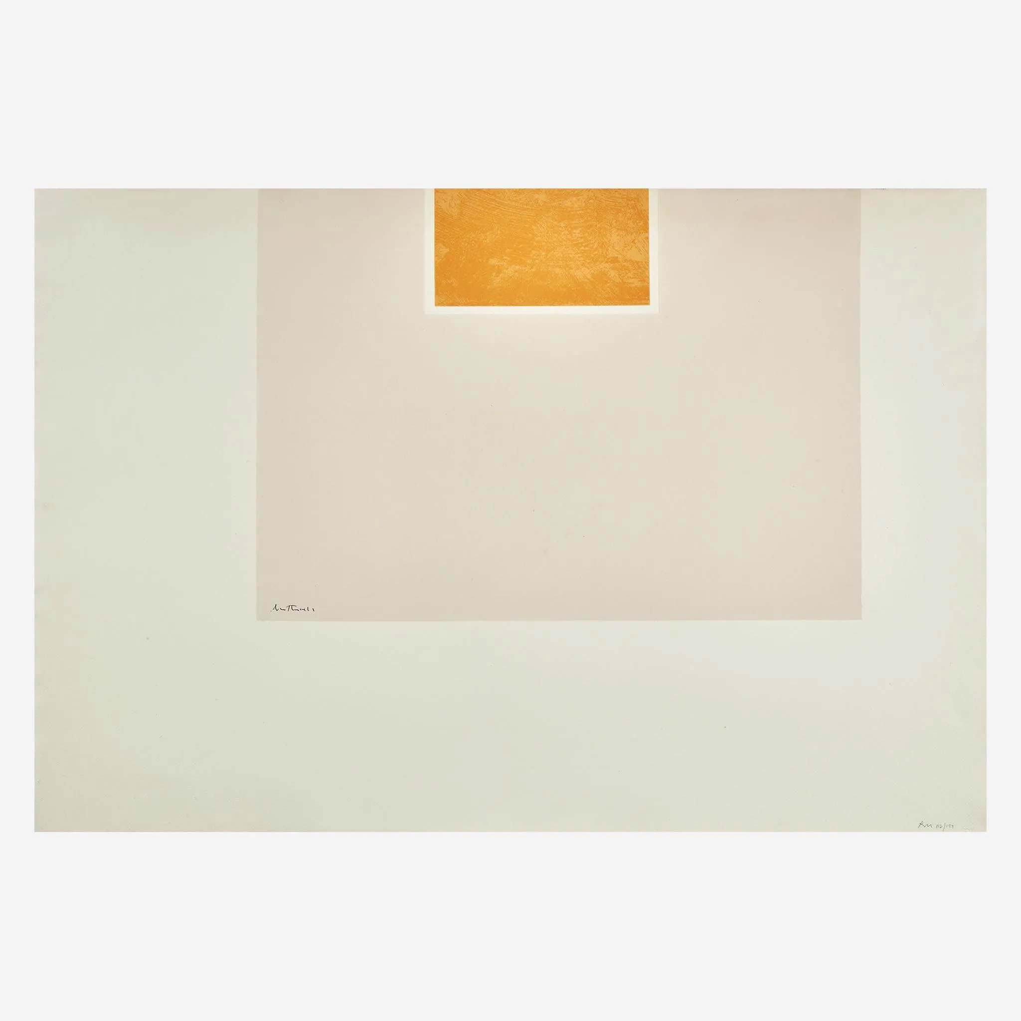 Robert Motherwell (American, 1915-1991), 'London Series II,' five prints, 1970-71, $7,000 plus buyer's premium. Image courtesy Freeman's
