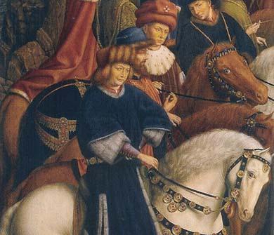 Belgium shows restored masterpiece but stolen panel rankles