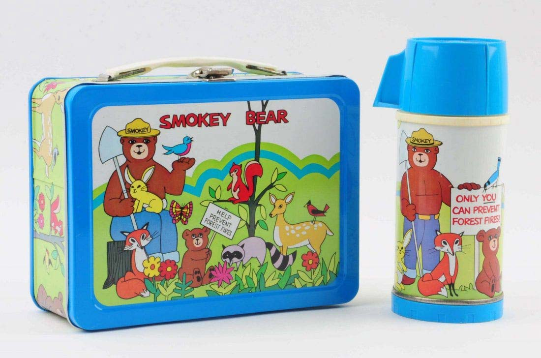 This 1975 Smokey Bear lunch box with a thermos brought $550 plus buyer's premium in September 2015 at Dan Morphy Auctions. Photo courtesy of Dan Morphy Auctions and LiveAuctioneers.