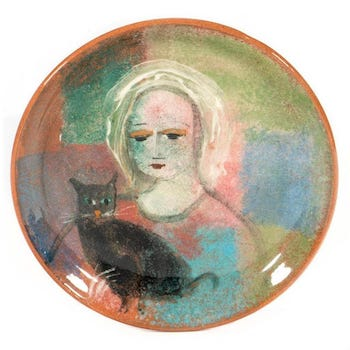 Yvaska art pottery collection headlines Turner Apr 24 sale