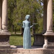 Sylvia Shaw Judson's 'Bird Girl,' bronze, 1936, estimated at $100,000-$150,000