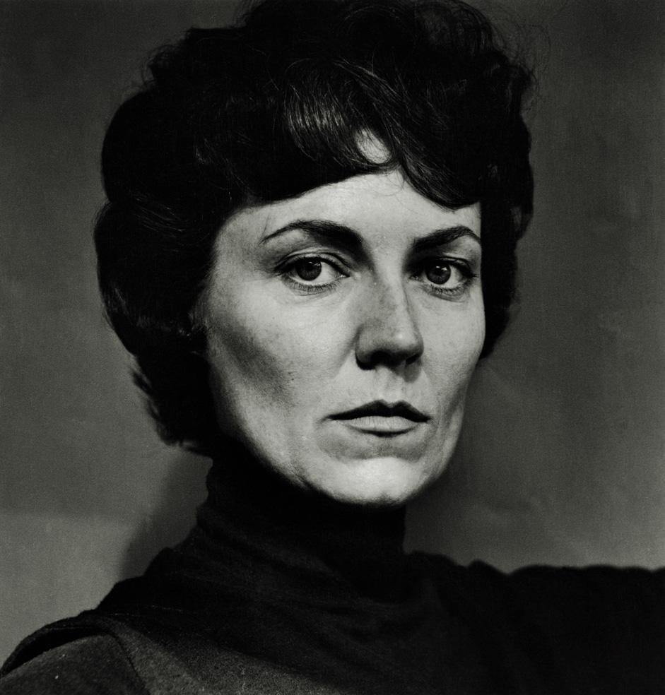 'June as Hedda Gabler,' by Helmut Newton