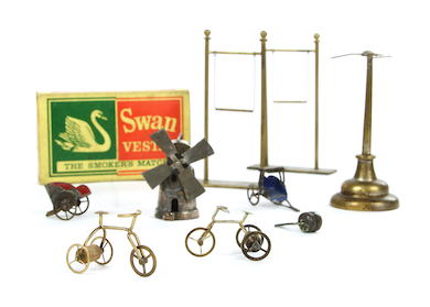 Sworders ventures 'out of the ordinary' with flea circus props, April 13-14