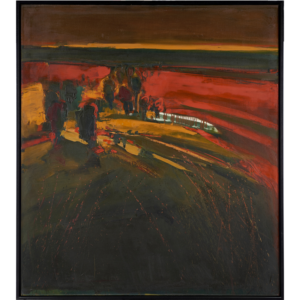 Henrietta Berk, 'Berkeley Hills Sunset,' estimated at $10,000-$15,000