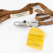 Tether that secured astronaut Jim Irwin during a historic Apollo 15 spacewalk, estimated at $30,000-plus