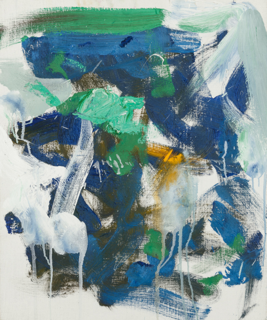 Joan Mitchell's 'Untitled,' 1989, which sold for $475,000 on May 4