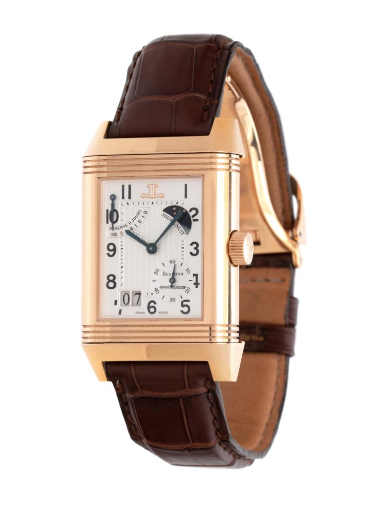A limited-edition Jaeger-LeCoultre 'Reverso Septantième' wristwatch, estimated at $15,000 - $25,000