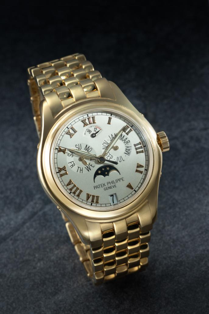 A Patek Philippe Ref. 5036/1J-001 wristwatch, estimated at $20,000-$30,000