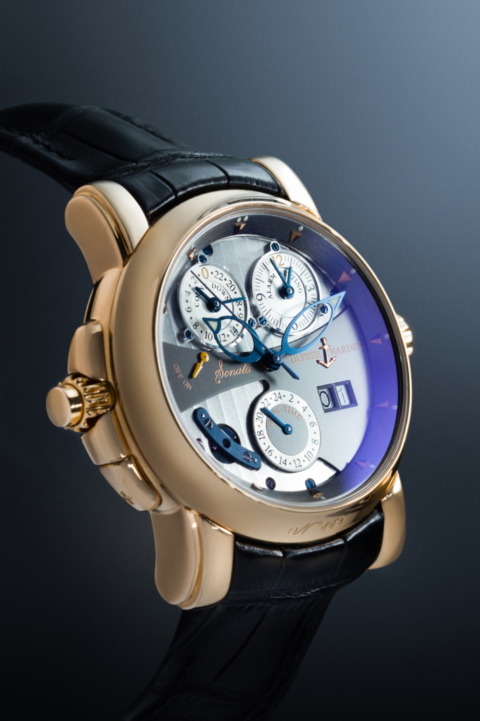 A Ulysse Nardin 'Sonata Cathedral' wristwatch, estimated at $18,000-$28,000