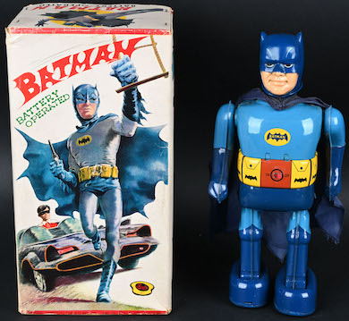 Milestone's May 1 auction loaded with rare robots, early comic character toys