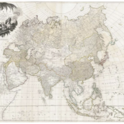 'Asia According to the Sieur D'anville,' 1772, estimated at $3,000-$4,000