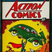 A copy of 'Action Comics 1' sold privately for $3.25 million, a new record