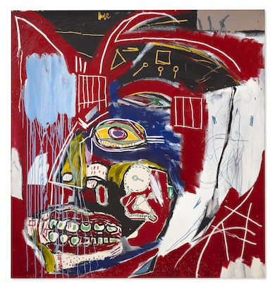 Basquiat skull painting could sell for more than $50M