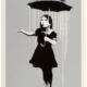 Banksy, 'NOLA (White Rain),' which sold for $162,500