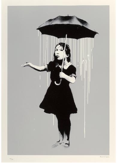 Gallery Report: Banksy makes it rain at Heritage