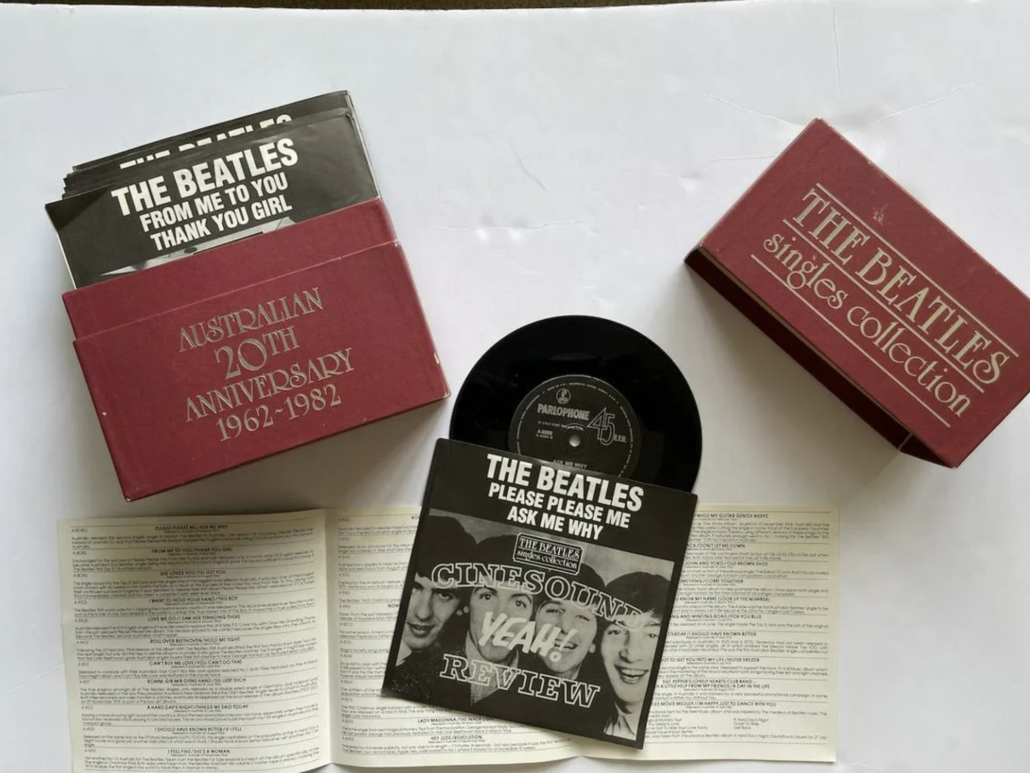 'The Beatles Singles Collection,' a 1982 Australian release estimated at $500-$1,000