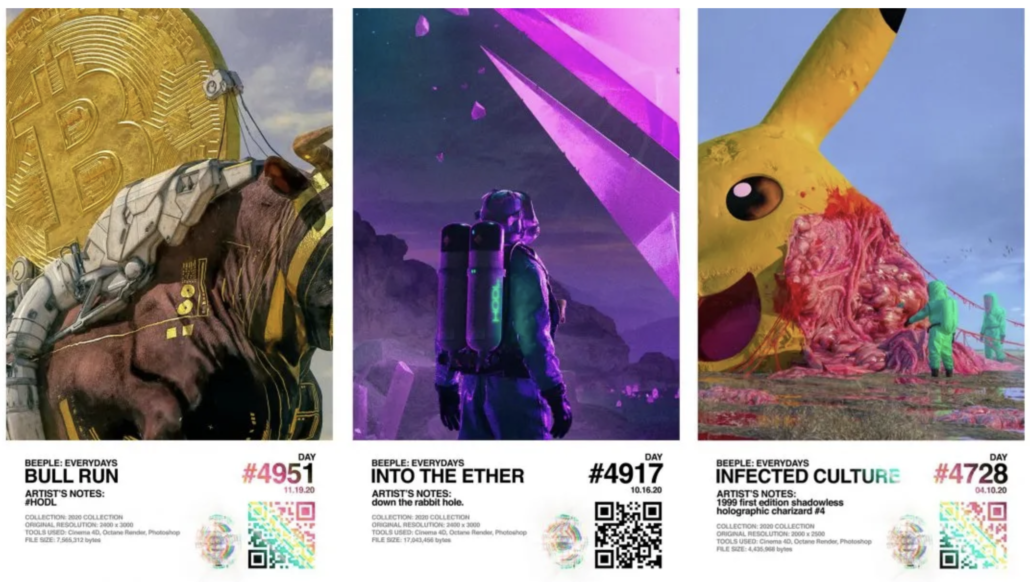 Beeple, 'The Everydays – The 2020 Collection,' estimated at $250,000-$350,000