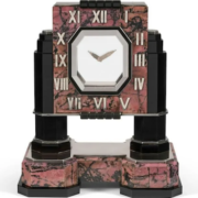 Circa early 1930s Cartier mystery clock, estimated at €400,000-€600,000