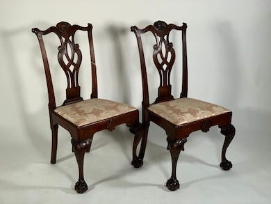 Chippendale chairs sit atop Neue Auctions April 10 results