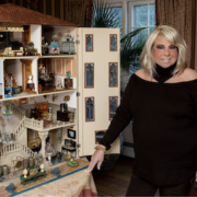 Collector Joanna Fisher created the petite universe featured in the upcoming exhibit The Fisher Dollhouse: A Venetian Palazzo in Miniature