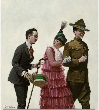 Heritage to auction 1917 Norman Rockwell cover art, May 7