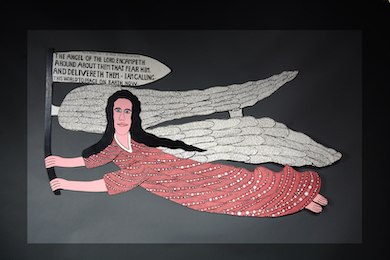 Howard Finster angel could fly high at Slotin auction, April 24