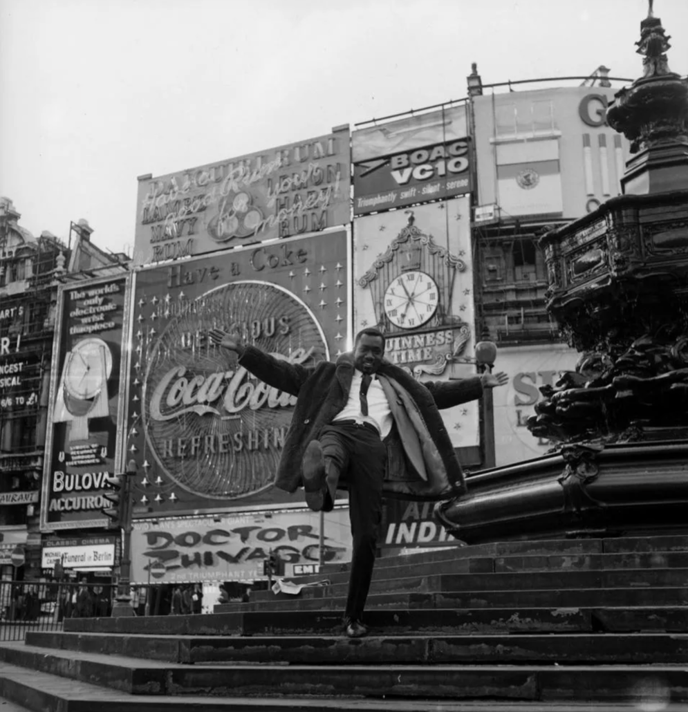 James Barnor, 'Mike Eghan at Piccadilly Circus,' estimated at €6,000-€8,000