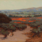 John Marshall Gamble, 'Landscape with Poppies,' estimated at $10,000-$15,000