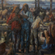 Knute Heldner, 'Singing by the Mississippi River,' estimated at $25,000-$35,000