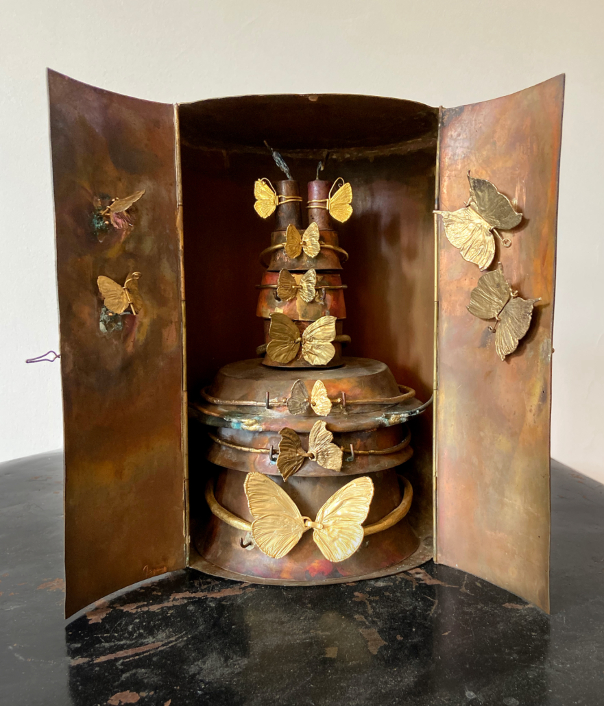 Claude Lalanne (French, 1925–2019), Le cabinet papillons (The butterfly cabinet), circa 1964.