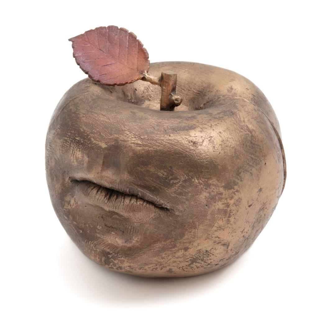 Claude Lalanne (French, 1925–2019), 'Pomme Bouche d'Alan (Alan's apple mouth)', 2009.