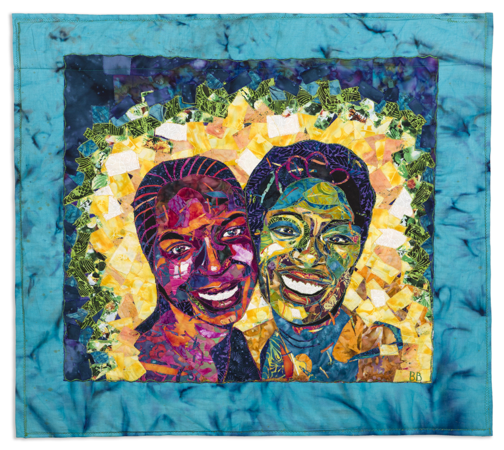 Bisa Butler, 'Nandi and Natalie (Friends),' which sold for $75,000
