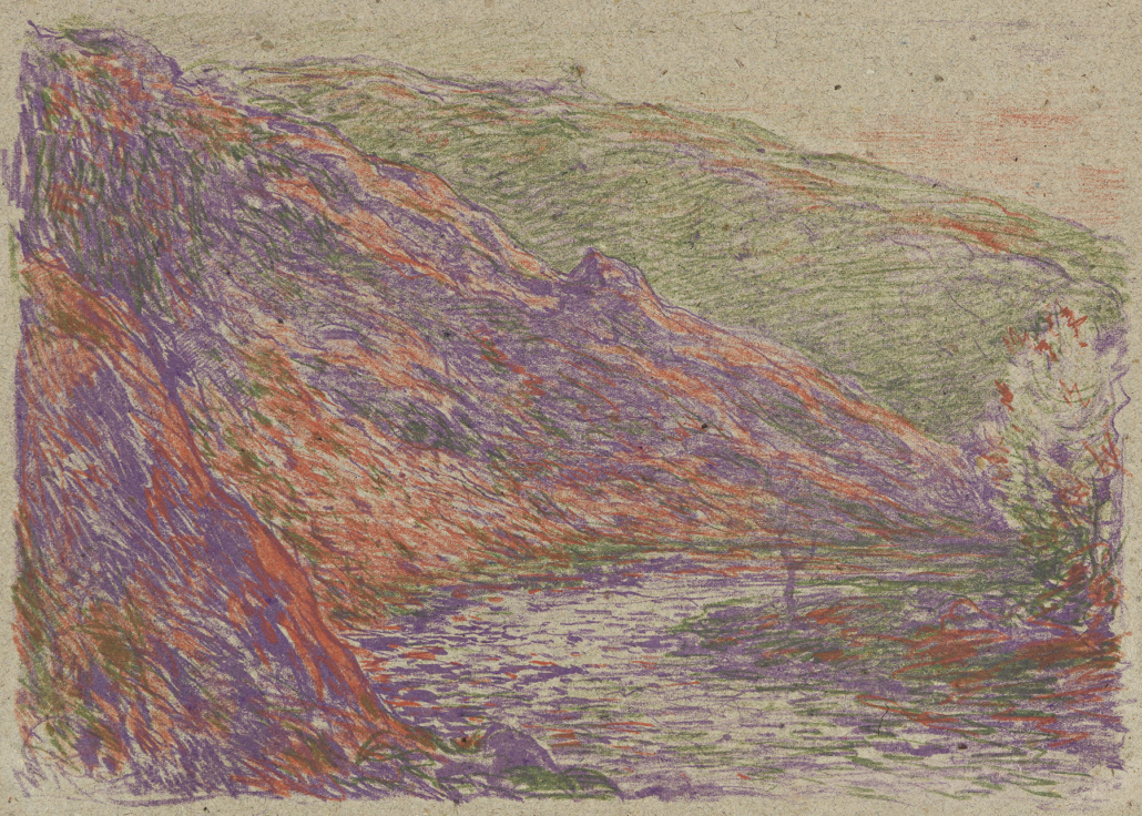 Claude Monet and George W. Thornley color lithograph, estimated at $5,000-$8,000