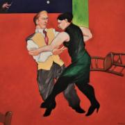 Erik Lovko, 'Tango,' estimated at $2,000-$2,500