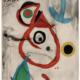 Joan Miro's 'Barcelona VIII,' estimated at $15,000-$20,000