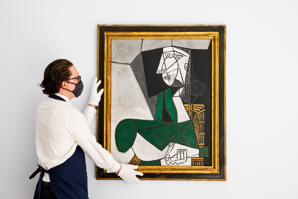Picasso's 1953 portrait of Francoise Gilot could sell for $14m-$18m