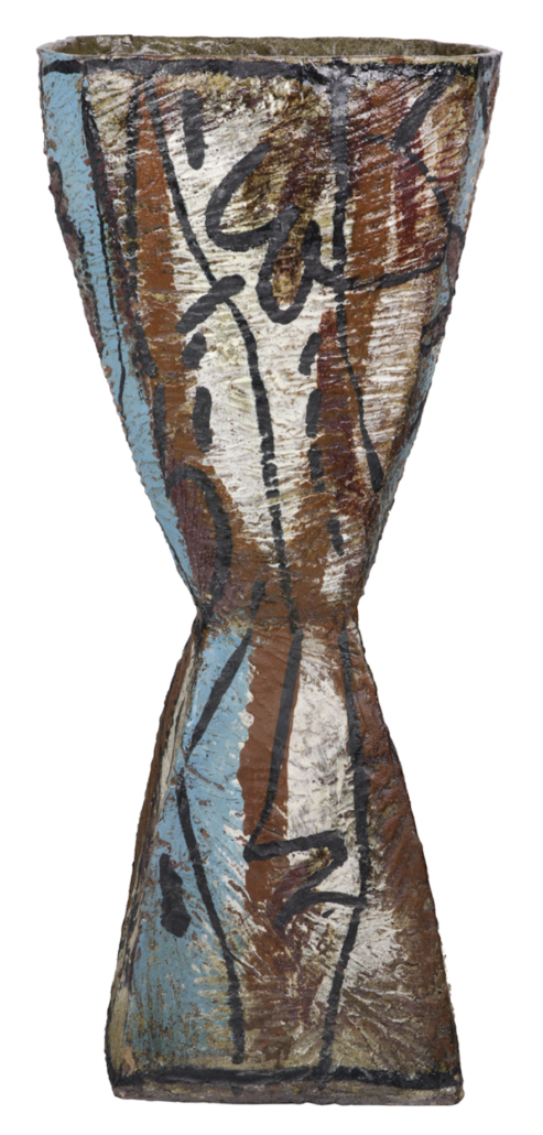Floor standing vessel by Rudy Autio, estimated at $4,000-$6,000