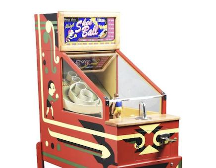 Skee-Ball: an arcade stalwart that's part skill, part chance