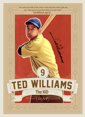 Auction brings Hall of Famer Ted Williams to NFT market