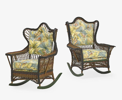 Wicker furniture: casual elegance of yesteryear