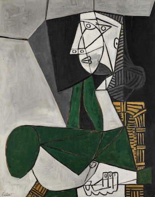 Sotheby's May 12 sale features Picasso portrait of Francoise Gilot
