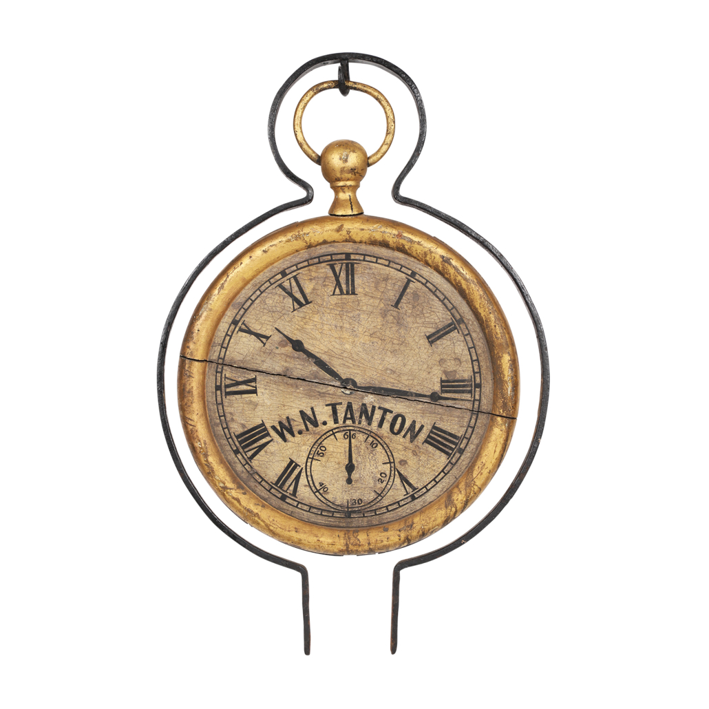 Prince Edward Island pocket watch trade sign, which sold for CAD $16,520