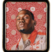 Kehinde Wiley, 'Ivelaw I,' from his series 'The World Stage: China,' estimated at €100,000-€150,000