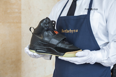 Sotheby's sets world record for sneakers with $1.8M private sale