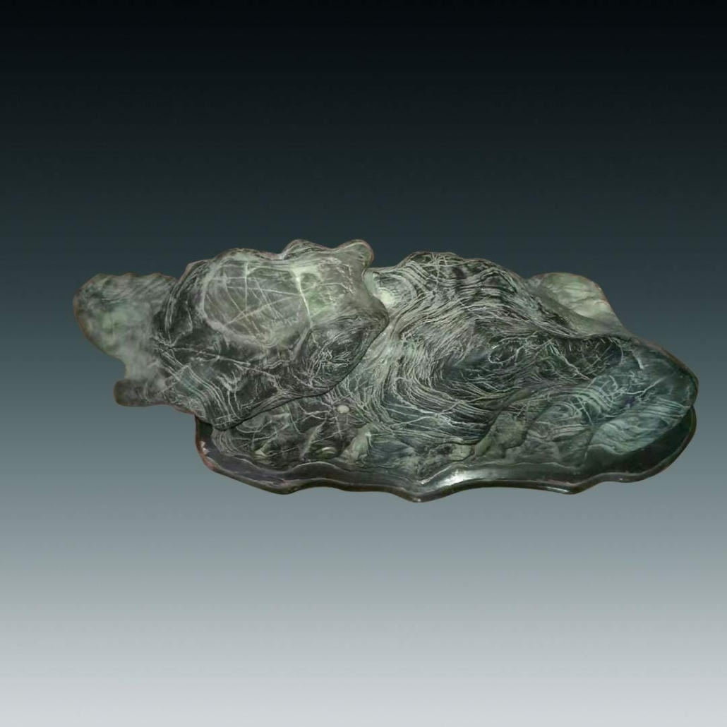 A scholar's rock with stand achieved $575,000 plus the buyer's premium in December 2019 at Bellaire's Auction.