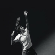 Roger Federer playing at the 2018 US Open. Christie's will auction Federer's personal memorabilia in two benefit auctions this summer.
