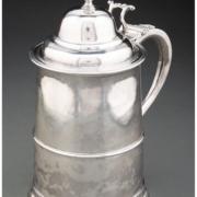 Paul Revere 10in silver tankard, estimated at $50,000-$70,000