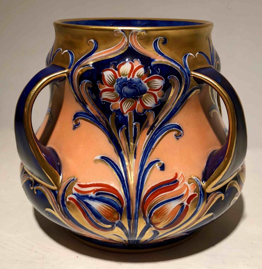 William Moorcroft Macintyre Alhambra vase, estimated at $400-600